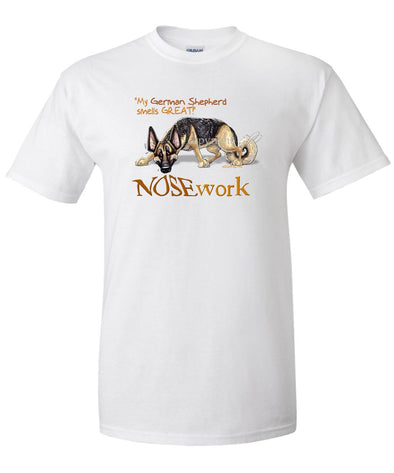 German Shepherd - Nosework - T-Shirt