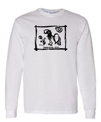 Japanese Chin - Cavern Canine - Long Sleeve T-Shirt