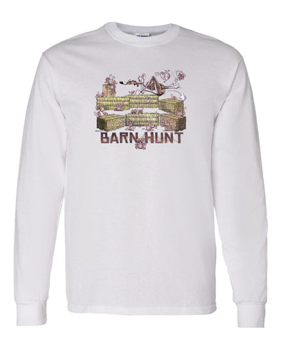 Whippet - Barnhunt - Long Sleeve T-Shirt