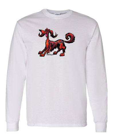 Irish Setter - Cool Dog - Long Sleeve T-Shirt