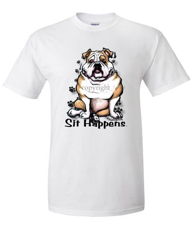 Bulldog - Sit Happens - T-Shirt