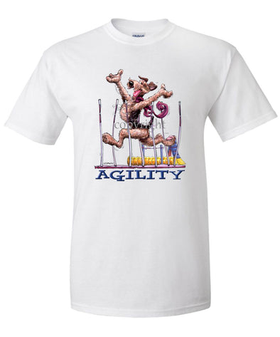 Airedale Terrier - Agility Weave II - T-Shirt