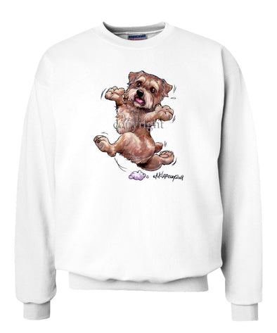 Norfolk Terrier - Happy Dog - Sweatshirt