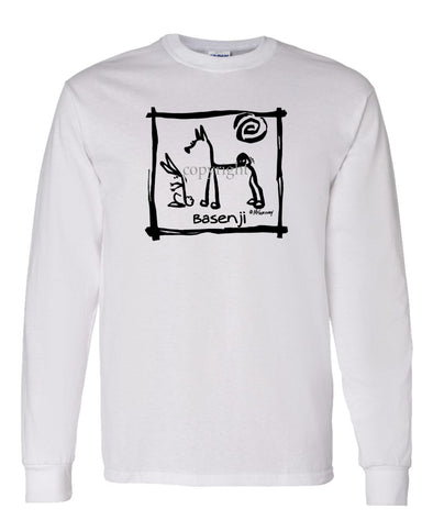 Basenji - Cavern Canine - Long Sleeve T-Shirt