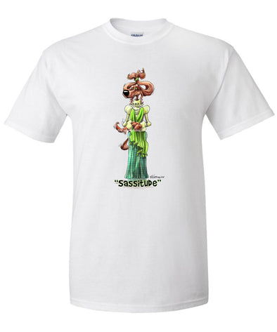 Irish Setter - Sassitude - Mike's Faves - T-Shirt