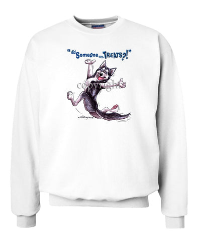 Siberian Husky - Treats - Sweatshirt