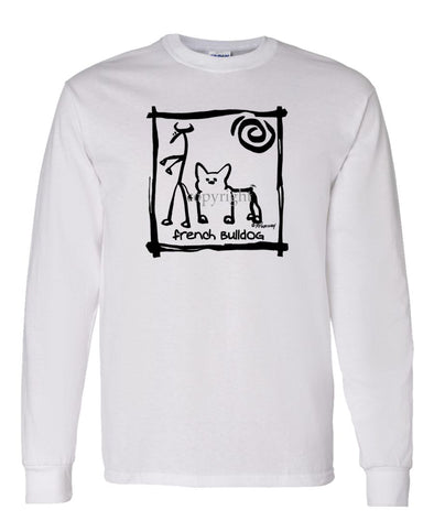 French Bulldog - Cavern Canine - Long Sleeve T-Shirt