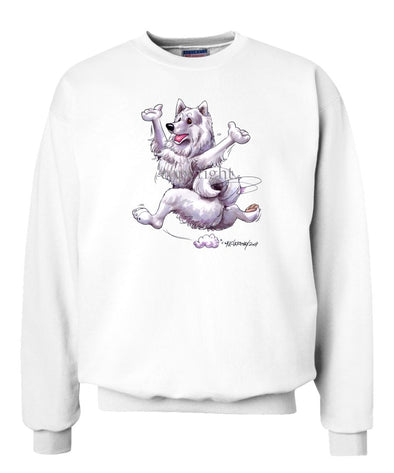 Samoyed - Happy Dog - Sweatshirt