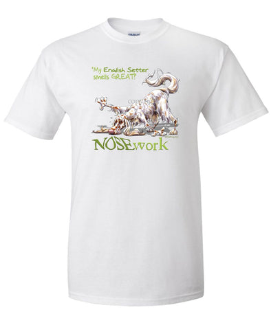 English Setter - Nosework - T-Shirt