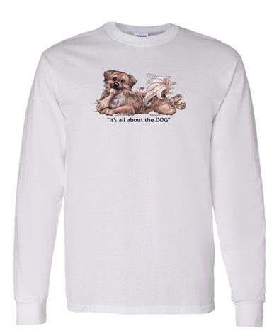 Tibetan Spaniel - All About The Dog - Long Sleeve T-Shirt