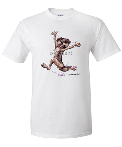 Border Terrier - Happy Dog - T-Shirt