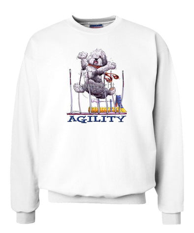 Old English Sheepdog - Agility Weave II - Sweatshirt