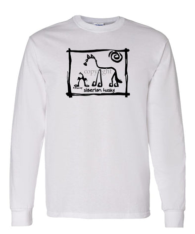 Siberian Husky - Cavern Canine - Long Sleeve T-Shirt