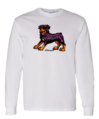 Rottweiler - Cool Dog - Long Sleeve T-Shirt