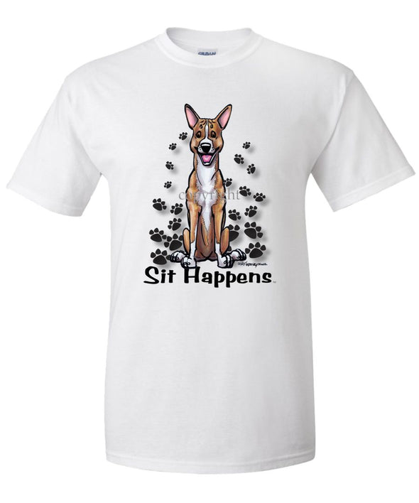 Basenji - Sit Happens - T-Shirt