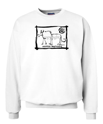 Scottish Deerhound - Cavern Canine - Sweatshirt