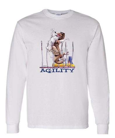 Collie - Agility Weave II - Long Sleeve T-Shirt