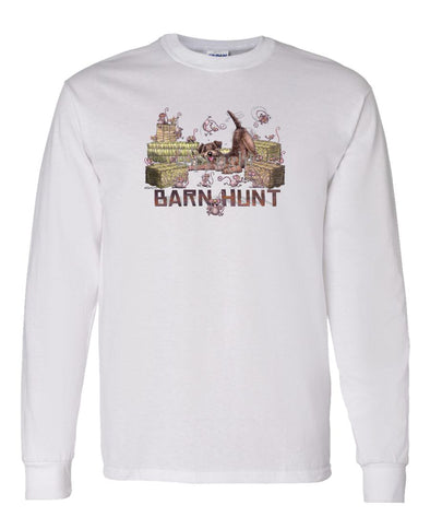 Border Terrier - Barnhunt - Long Sleeve T-Shirt
