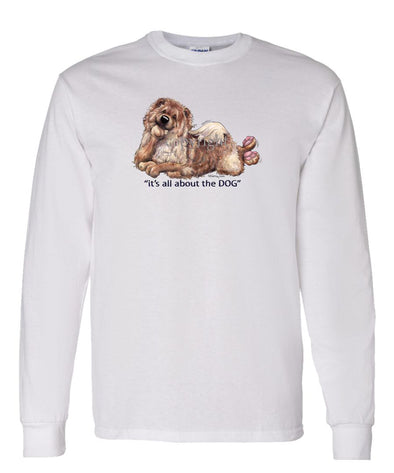 Chow Chow - All About The Dog - Long Sleeve T-Shirt