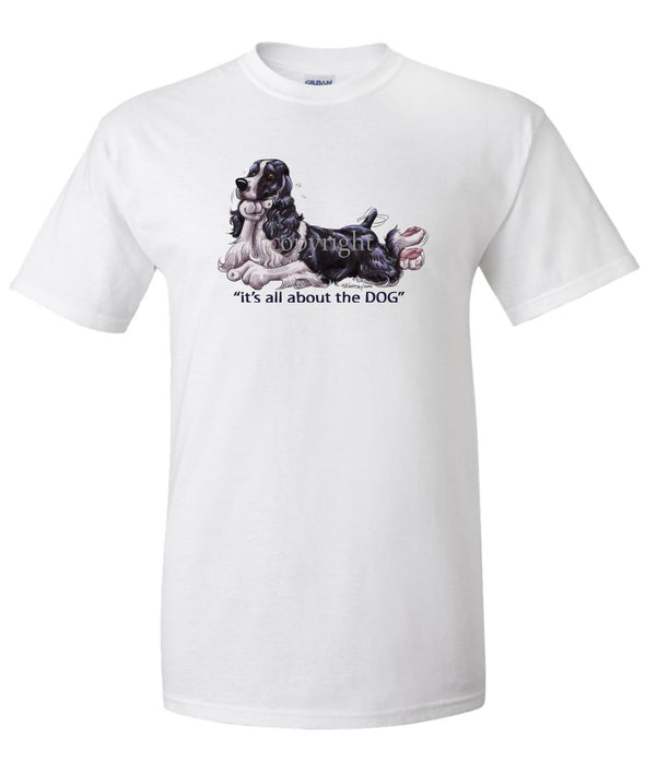 English Springer Spaniel - All About The Dog - T-Shirt