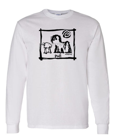 Puli - Cavern Canine - Long Sleeve T-Shirt
