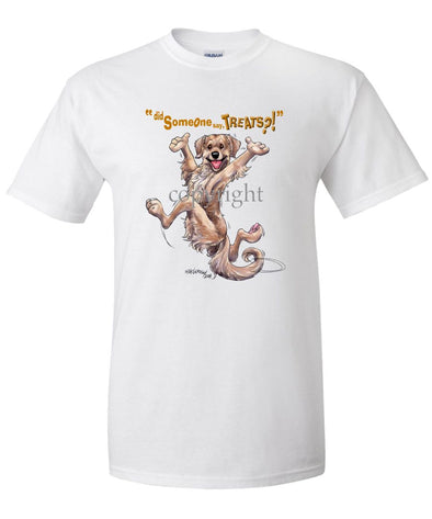 Golden Retriever - Treats - T-Shirt
