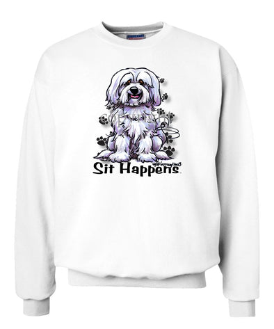 Havanese - Sit Happens - Sweatshirt