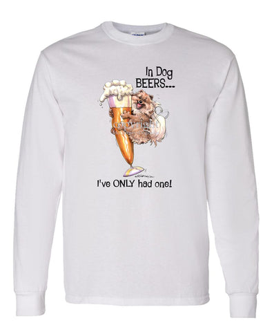 Pomeranian - Dog Beers - Long Sleeve T-Shirt