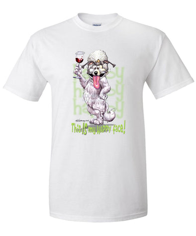 Great Pyrenees - Who's A Happy Dog - T-Shirt