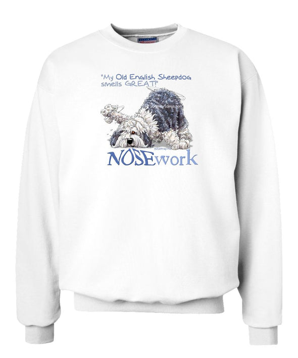 Old English Sheepdog - Nosework - Sweatshirt