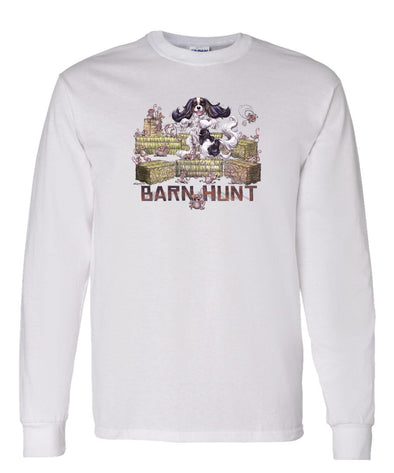 Cavalier King Charles  Black Tri - Barnhunt - Long Sleeve T-Shirt