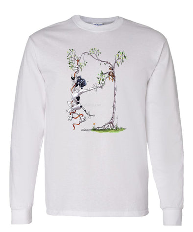 Pointer - Up In Tree - Mike's Faves - Long Sleeve T-Shirt