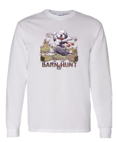 Old English Sheepdog - Barnhunt - Long Sleeve T-Shirt