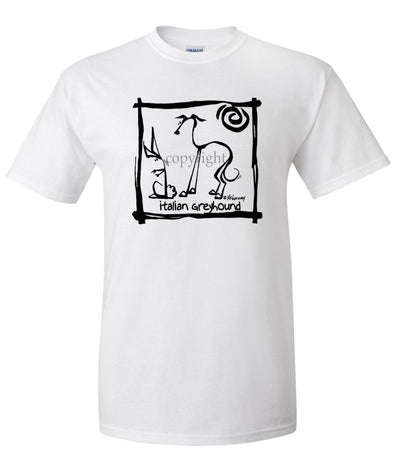 Italian Greyhound - Cavern Canine - T-Shirt