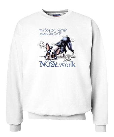 Boston Terrier - Nosework - Sweatshirt