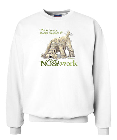 Soft Coated Wheaten - Nosework - Sweatshirt