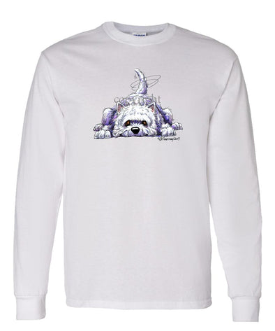 West Highland Terrier - Rug Dog - Long Sleeve T-Shirt