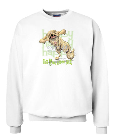 Golden Retriever - 2 - Who's A Happy Dog - Sweatshirt