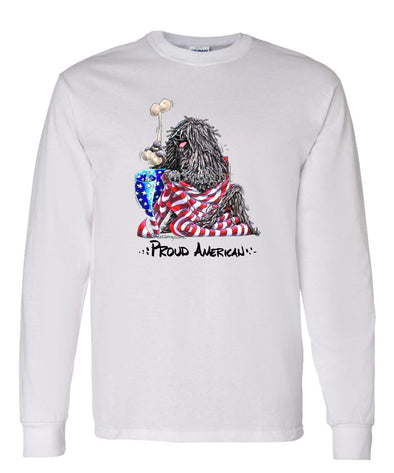 Puli - Proud American - Long Sleeve T-Shirt