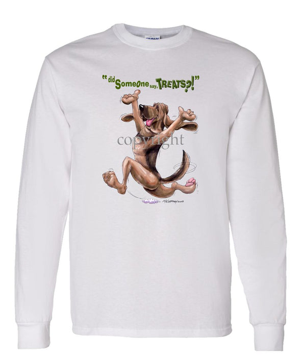 Bloodhound - Treats - Long Sleeve T-Shirt
