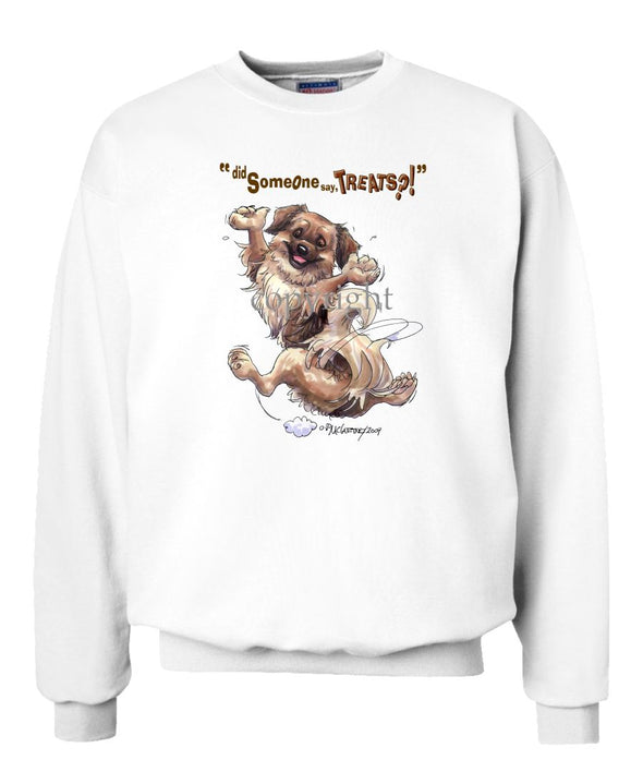 Tibetan Spaniel - Treats - Sweatshirt
