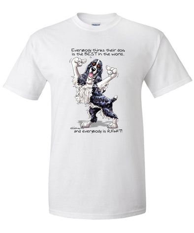 English Springer Spaniel - Best Dog in the World - T-Shirt