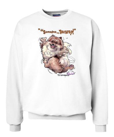 Pomeranian - Treats - Sweatshirt