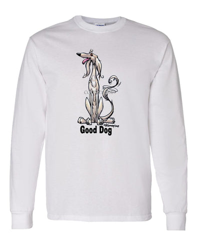 Saluki - Good Dog - Long Sleeve T-Shirt