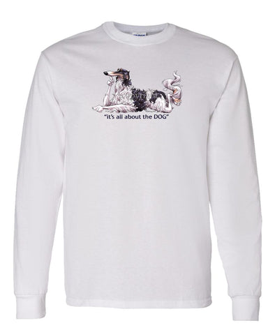Borzoi - All About The Dog - Long Sleeve T-Shirt