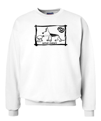 German Shepherd - Cavern Canine - Sweatshirt
