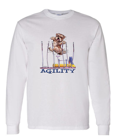 Norfolk Terrier - Agility Weave II - Long Sleeve T-Shirt