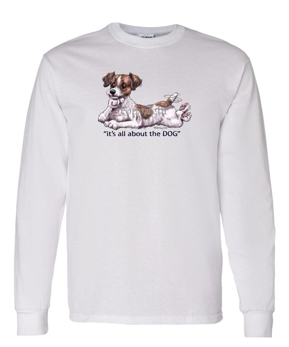Jack Russell Terrier - All About The Dog - Long Sleeve T-Shirt