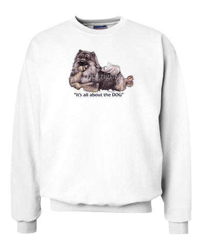 Keeshond - All About The Dog - Sweatshirt