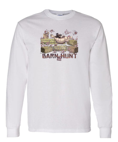 Pug - Barnhunt - Long Sleeve T-Shirt